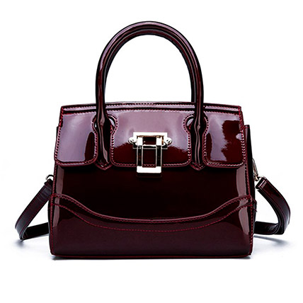 Adjustable Strap Leather Shoulder Bag: Handbags