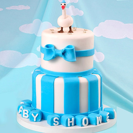 Baby Shower Duck Theme Cake 5 Kg: Baby Shower Cakes