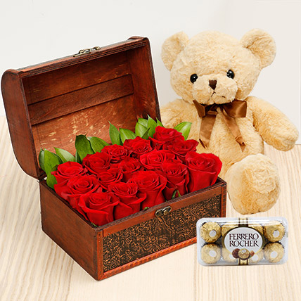 Treasure Hunt Combo: Teddy Day Gifts