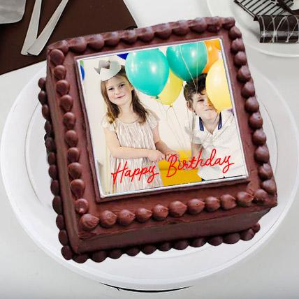 Delectable Photos Cake: Birthday Photo Cakes