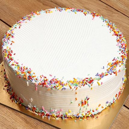 Rainbow Cake: Newborn Baby Cake