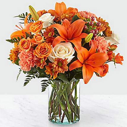 Fascinating Floral Arrangement: Halloween Flowers