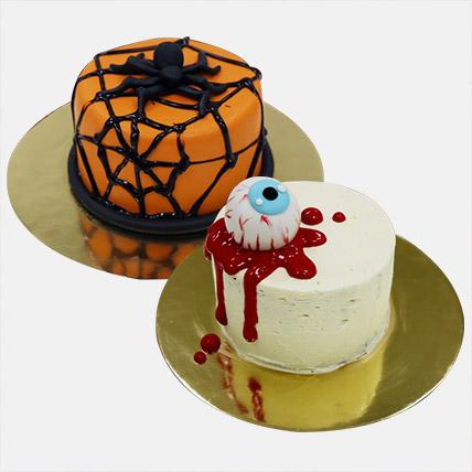 Halloween Mono Cakes Combo: Halloween Gifts