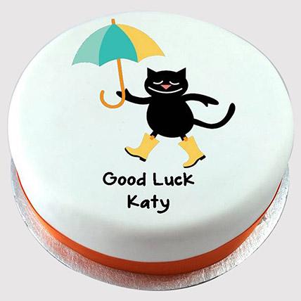 Adorable Good Luck Cake: Cat Birthday Cakes