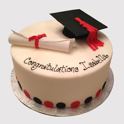 Congratulatory Graduation Cake: Graduation Cakes