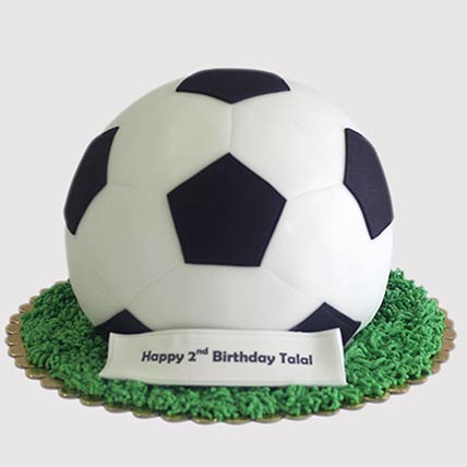 Football Shaped Cake: Football Cakes