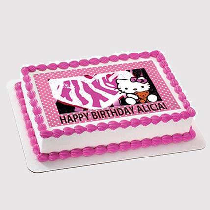 Hello Kitty Photo Cake: Hello Kitty Cakes