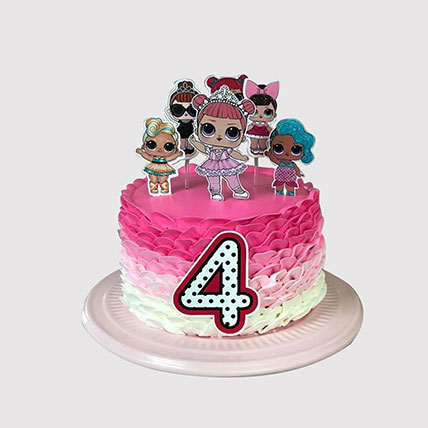 Lol Surpirse Dolls Fondant Cake: LOL Surprise Cakes