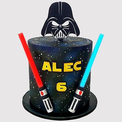 Star Wars Galaxy Themed Cake: Star Wars Cakes