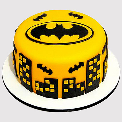 The Dark Knight Fondant Cake: Batman Cakes