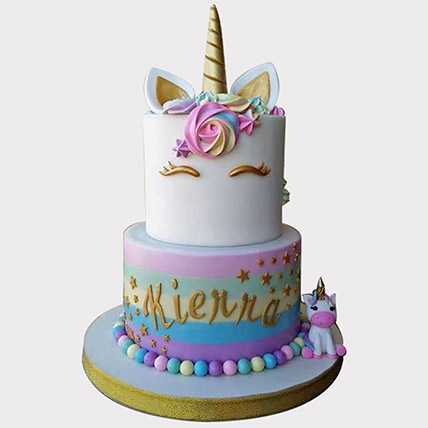 Unicorn Themed Cake: Unicorn Cake Dubai