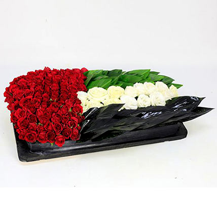 Floral Arrangement for National Day: UAE National Day Flowers