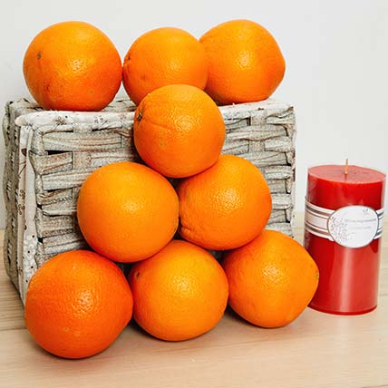 Oranges Gift Hamper: Fruit Baskets