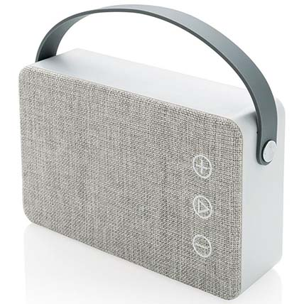 Grey Bluetooth Speaker: