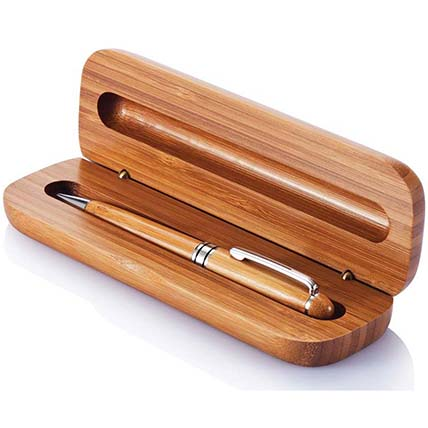 Bamboo Pen In A Box: Accessories