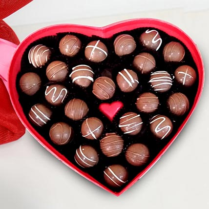 Heart Shape Valentine Chocolates: Valentines Day Gifts For Her