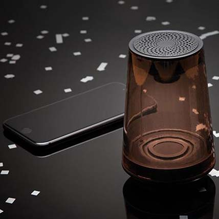 Black Wireless Speaker: Electronics Accessories