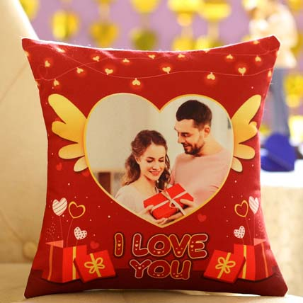 Romantic Personalised Cushion For Valentines Day: Propose Day Gifts