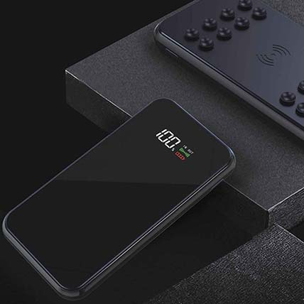 Exquisite Power Bank Black: