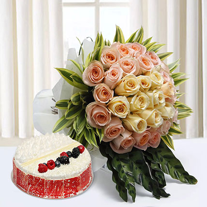 Sophistication Reprised: Mothers Day Flowers & Cakes