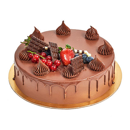4 Portion Fudge Cake: Cakes Delivery in Ajman