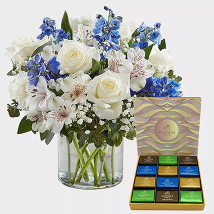 Royal Blooms and Godiva Chocolate Bar: Gifts for Cancerians