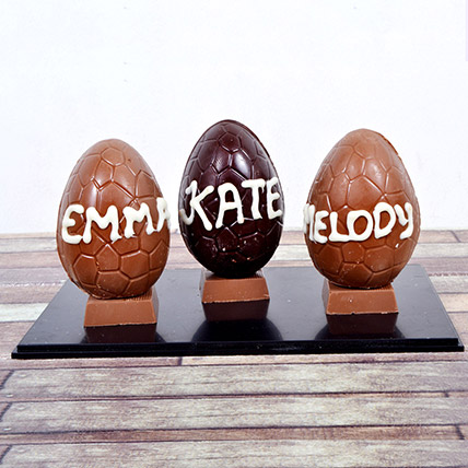 Personalised Chocolate Easter Egg: Personalised Chocolates
