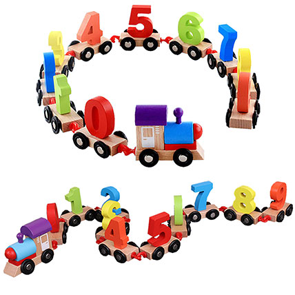 Digital Toy Train: Educational Games