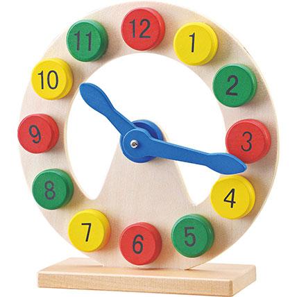 Wooden Digital Clock: Toys for Kids