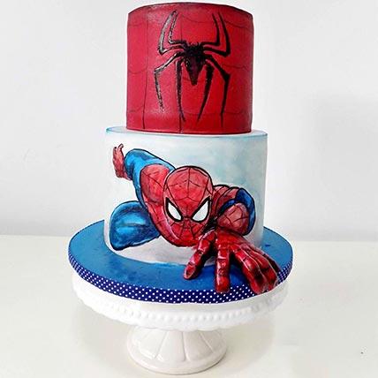 Spiderman Cake 2 Tier: Spiderman Cakes