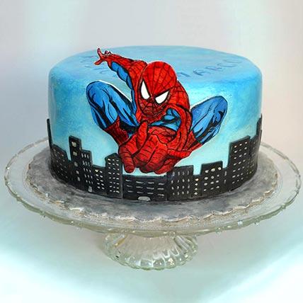 Spiderman Designer Cake: Spiderman Cake Ideas