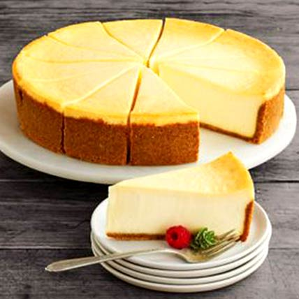 Frozen New York Cheesecake: Cakes Delivery in Ras Al Khaimah