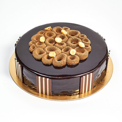 Crunchy Chocolate Hazelnut Cake: Cakes Delivery in Dubai