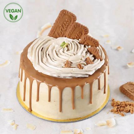 Vegan Lotus Biscoff Cake: Vegan Cakes
