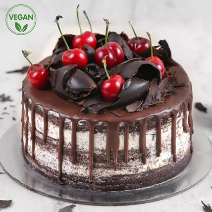 Black Forest Vegan Cake: Vegan Cakes