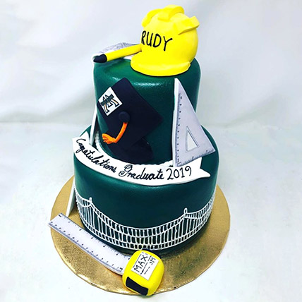 Engineering Theme Graduation Cake: Graduation Cakes