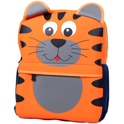 Happy Tiger Backpack For Children: Kids Backpack