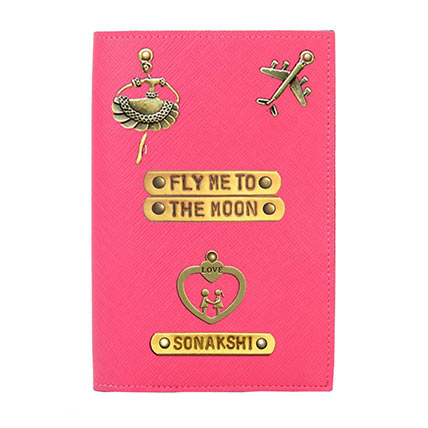 Personalised Fly To Moon Passport Cover: Accessories