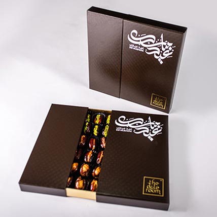 Assorted Dates Eid Box 74 Pcs: Eid Gift Hampers