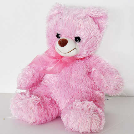 Soft and Fully Pink Teddy: Soft Toys