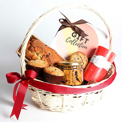 Grand Teatime Goodies Gift Basket: Gift Hampers