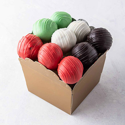 National Day Cake Pops: UAE National Day Gifts