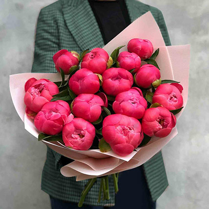 Young Love Peony Bouquet: Peony Bouquet