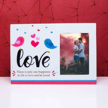 To Be Loved Wooden Photo Frame: Personalised Photo Frames