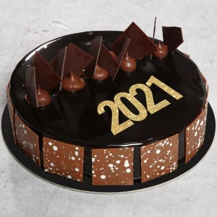 Scrumptious Chocolate Fudge Cake: New Year Cake