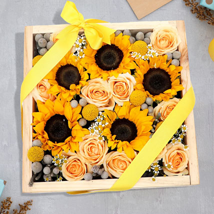 A Reminder of Beauty:  Sunflower Bouquets