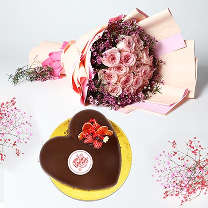 For The Sweetness You Bring: Valentines Day Cake