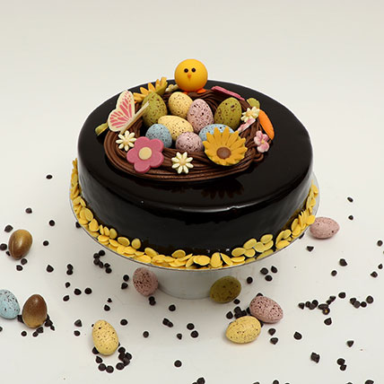 Easter Special Irresistible Chocolate Truffle Cake: Easter Gifts