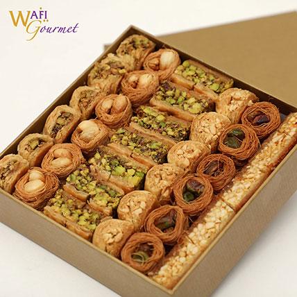 A Medium Box of Luxury Baklava Mix 875g: Eid Sweets