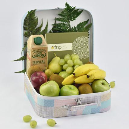 Fruity Delights with Dates: Fruit Basket Dubai